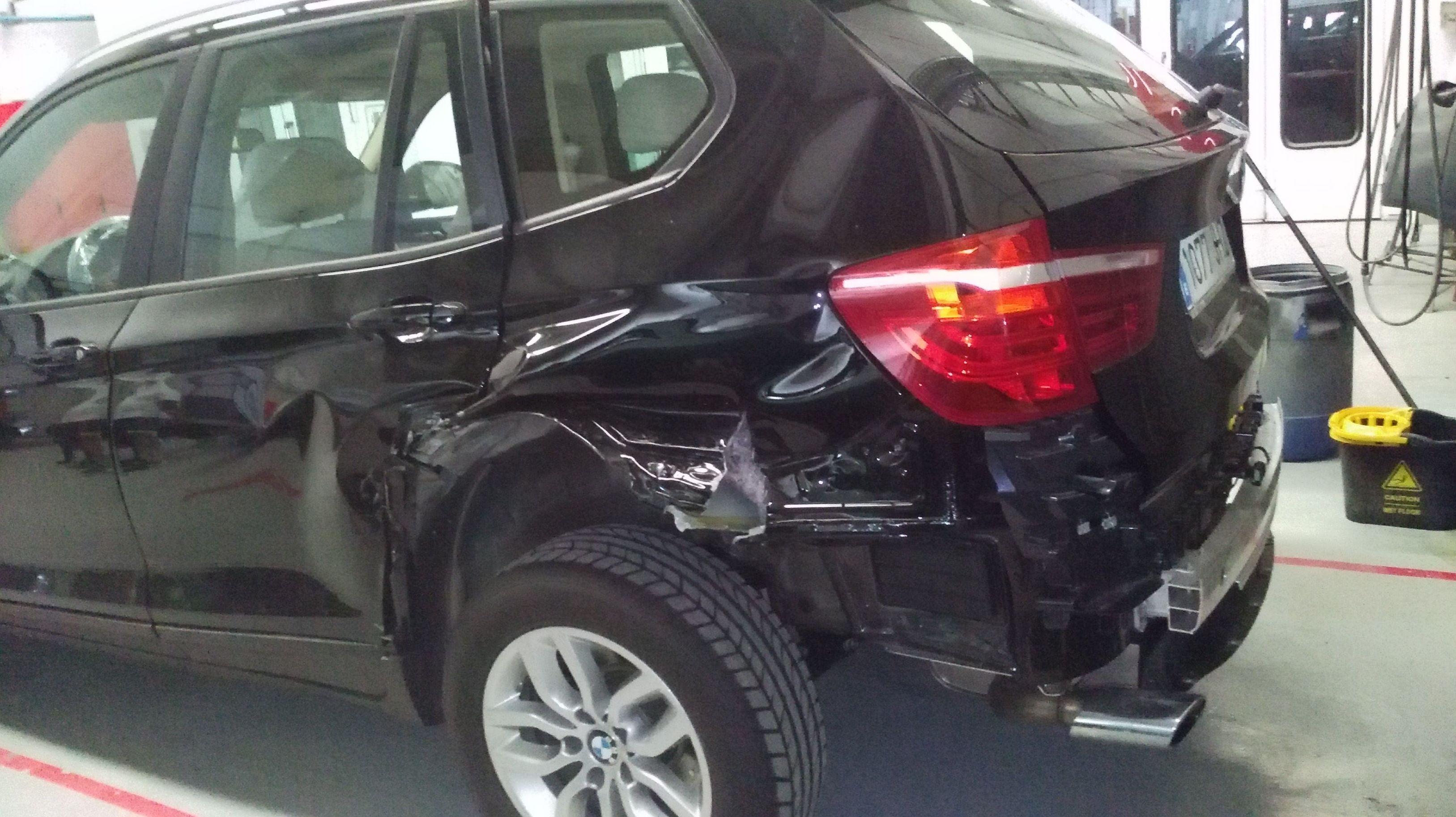 BMW SINIESTRADO
