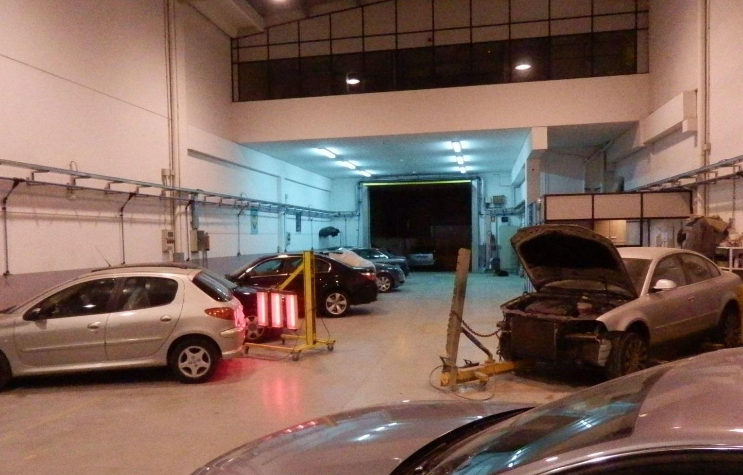Reparación rápida de cohces: Servicios de Plancha y Pintura Rafael Gascón