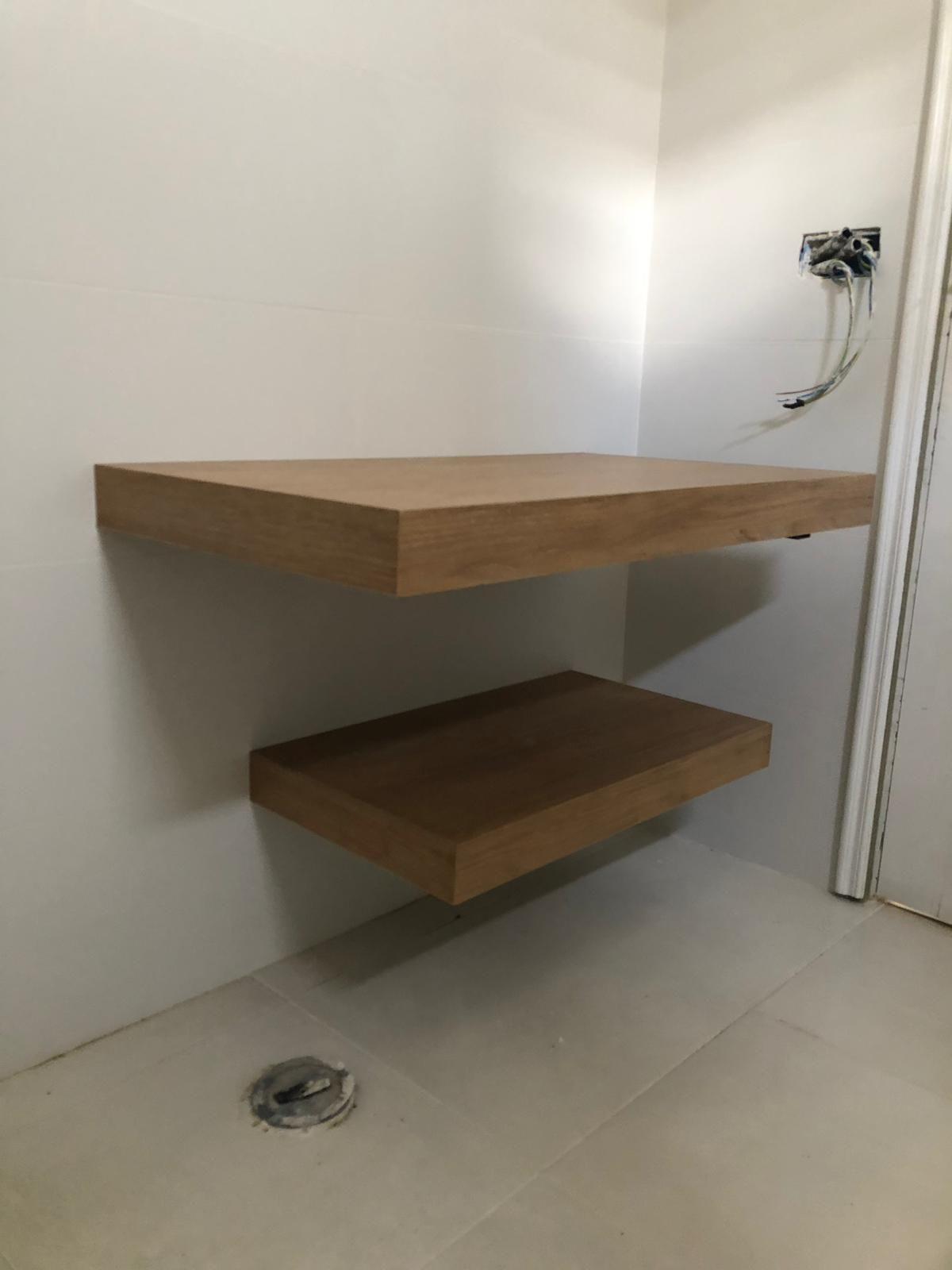 Estanterías de madera Tenerife