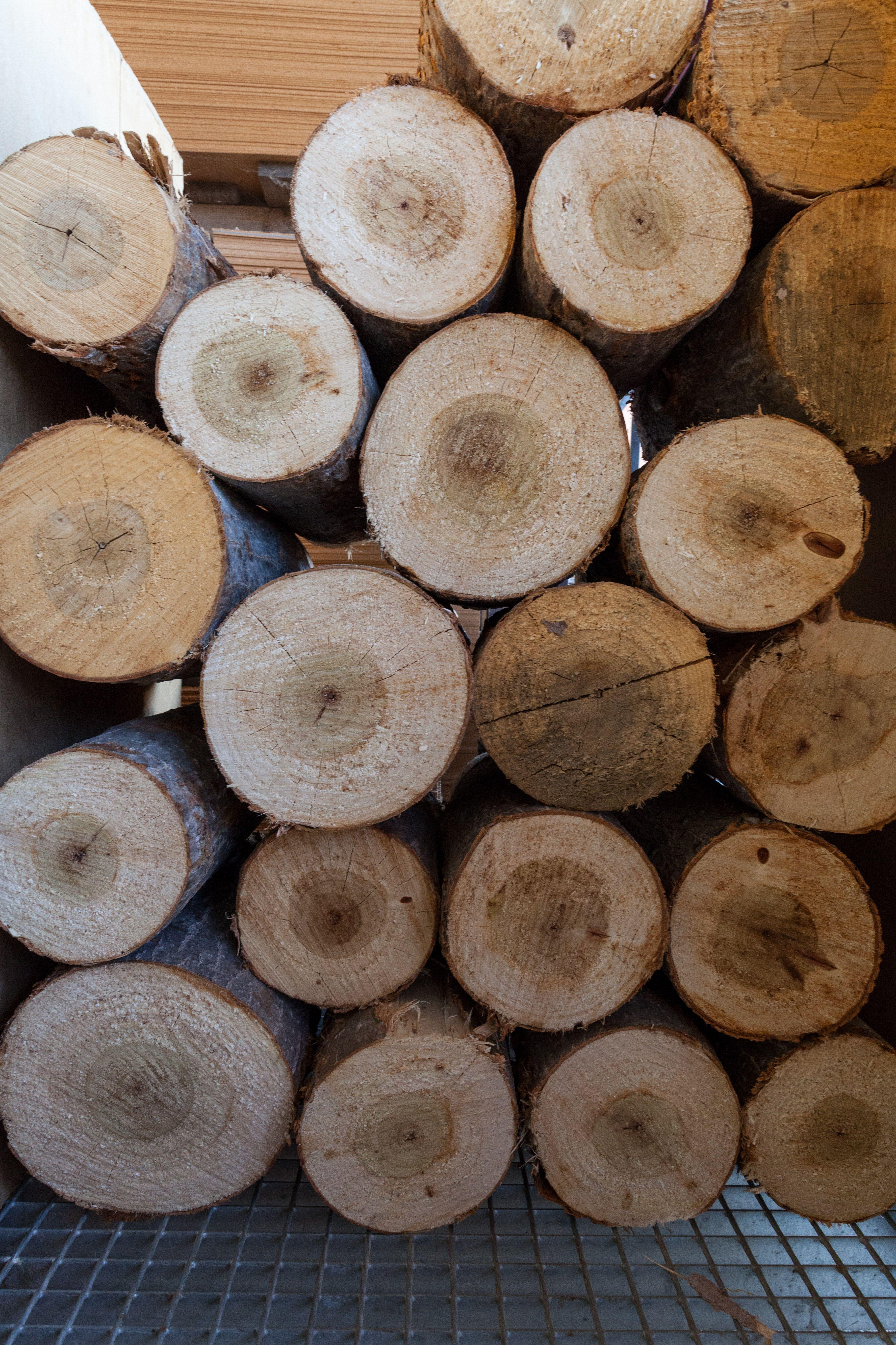 Cajas de madera para hortalizas