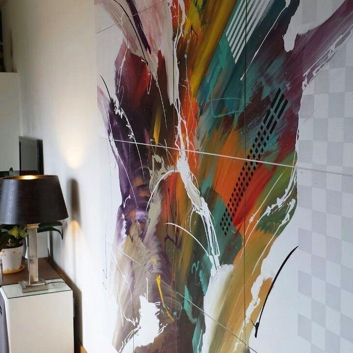 Paneles pintado en Vitoria para la decoración de espacios