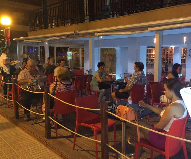 Restaurante en Salou con terrza