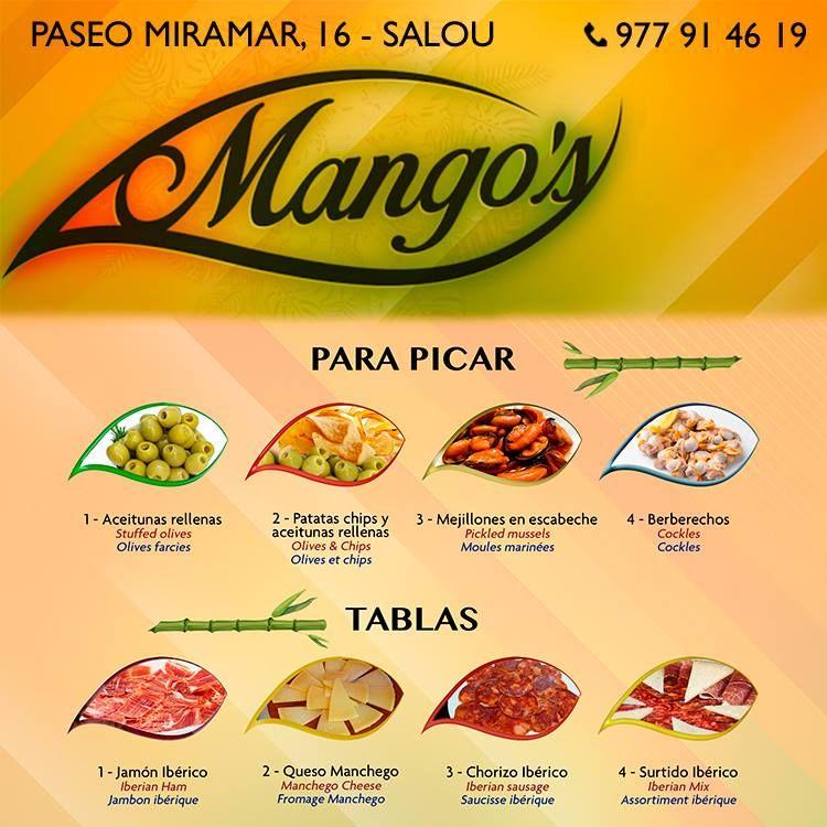 Para picar: Restaurante - Coctelería de Mango's