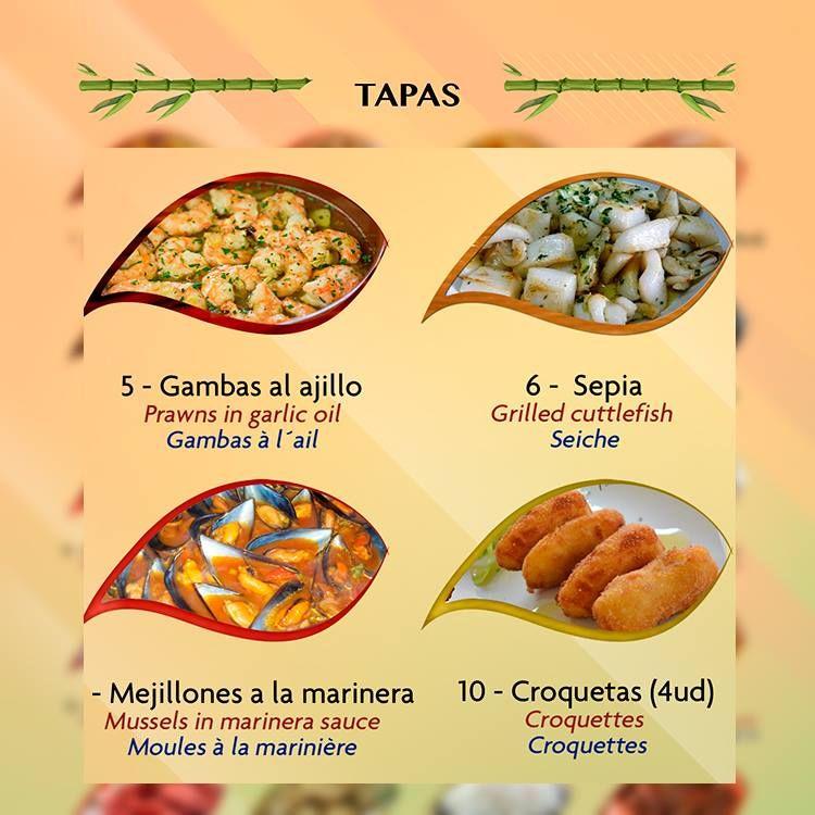 Tapas: Restaurante - Coctelería de Mango's