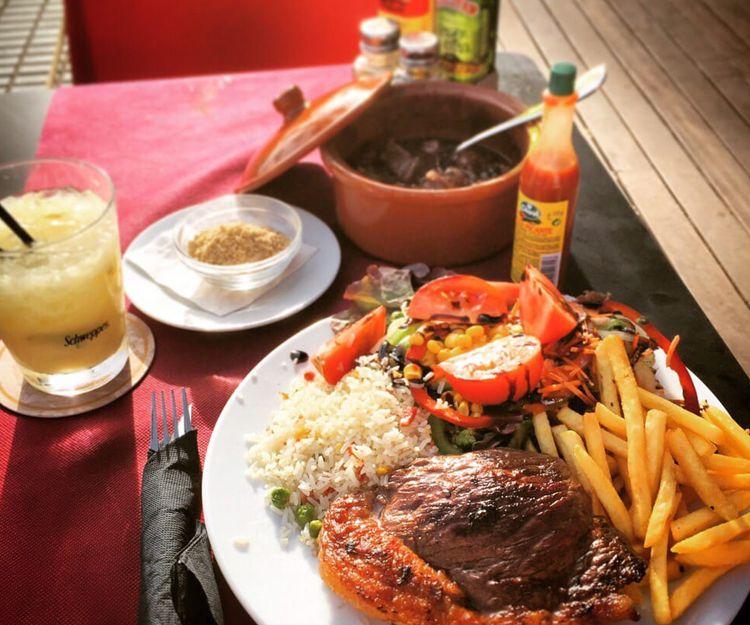 Exquisitos platos brasileños