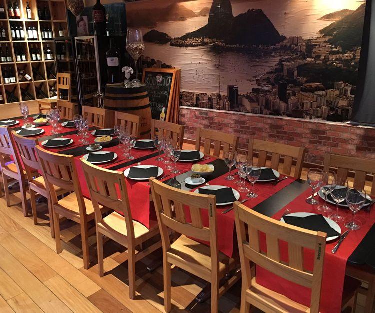 Amplio restaurante de cocina brasileña en Salou