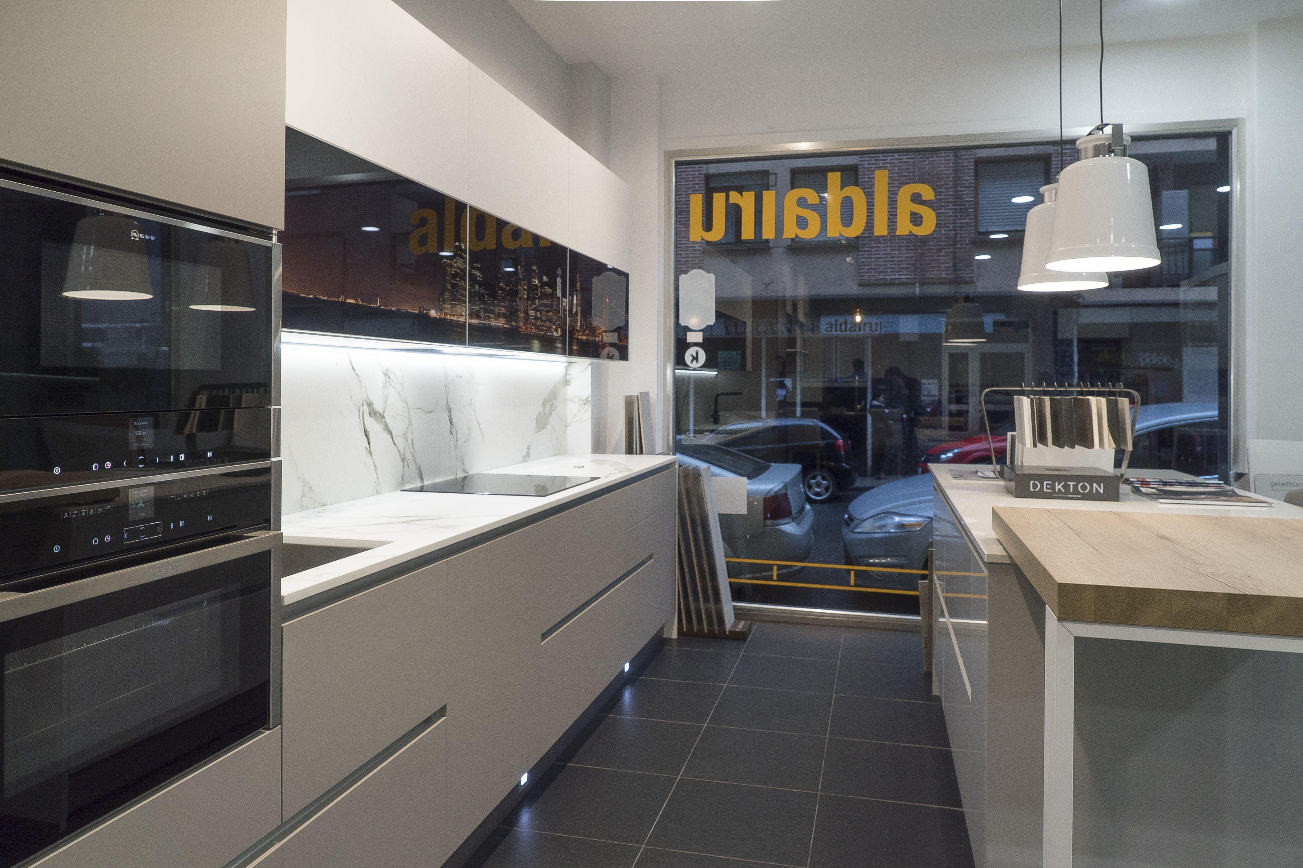 Especialistas en muebles de cocina de diseño en Erandio