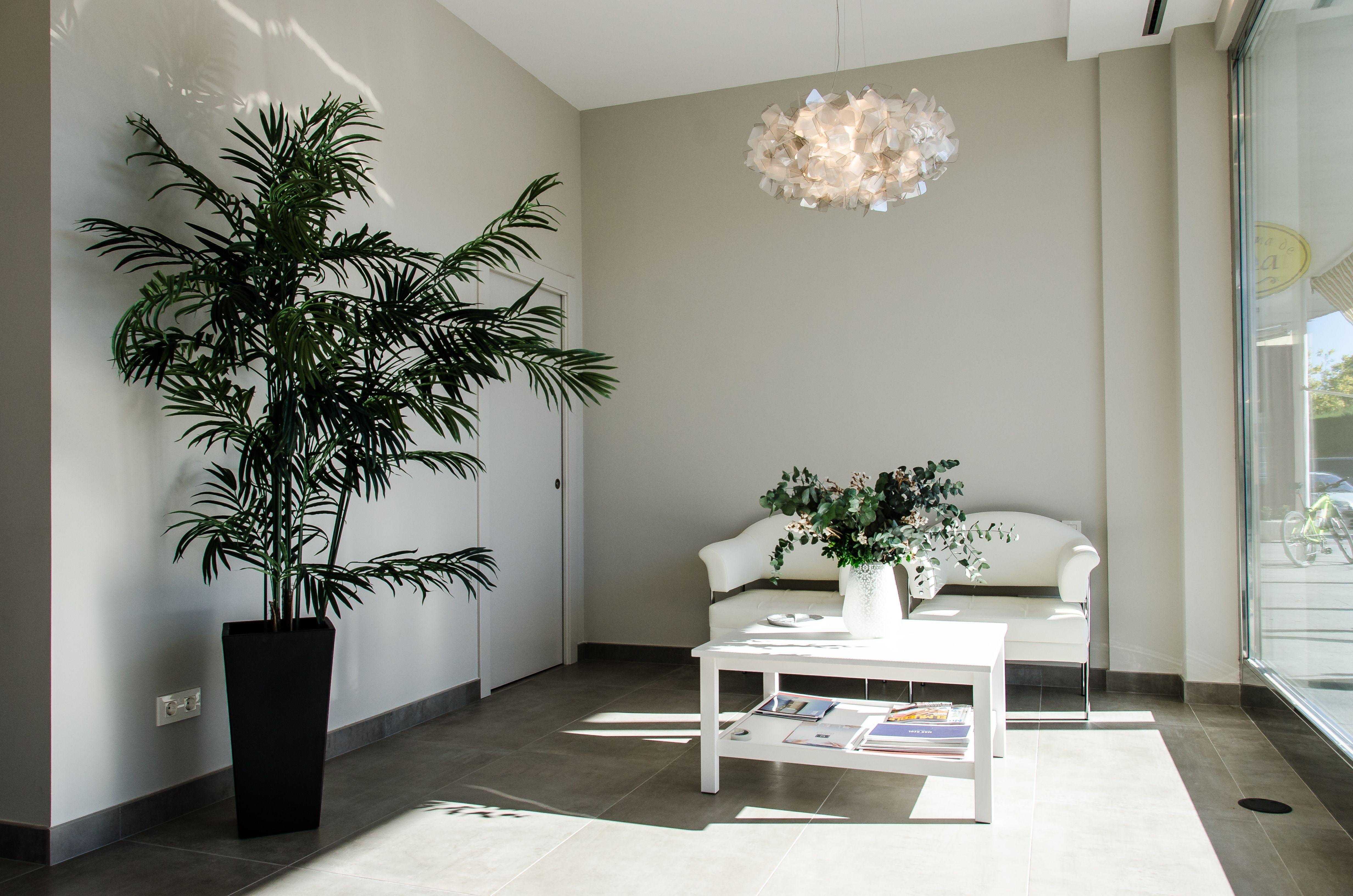 Sala de espera ANB Inmobiliaria