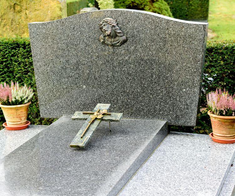 Lápidas de mármol en Santiago de Compostela