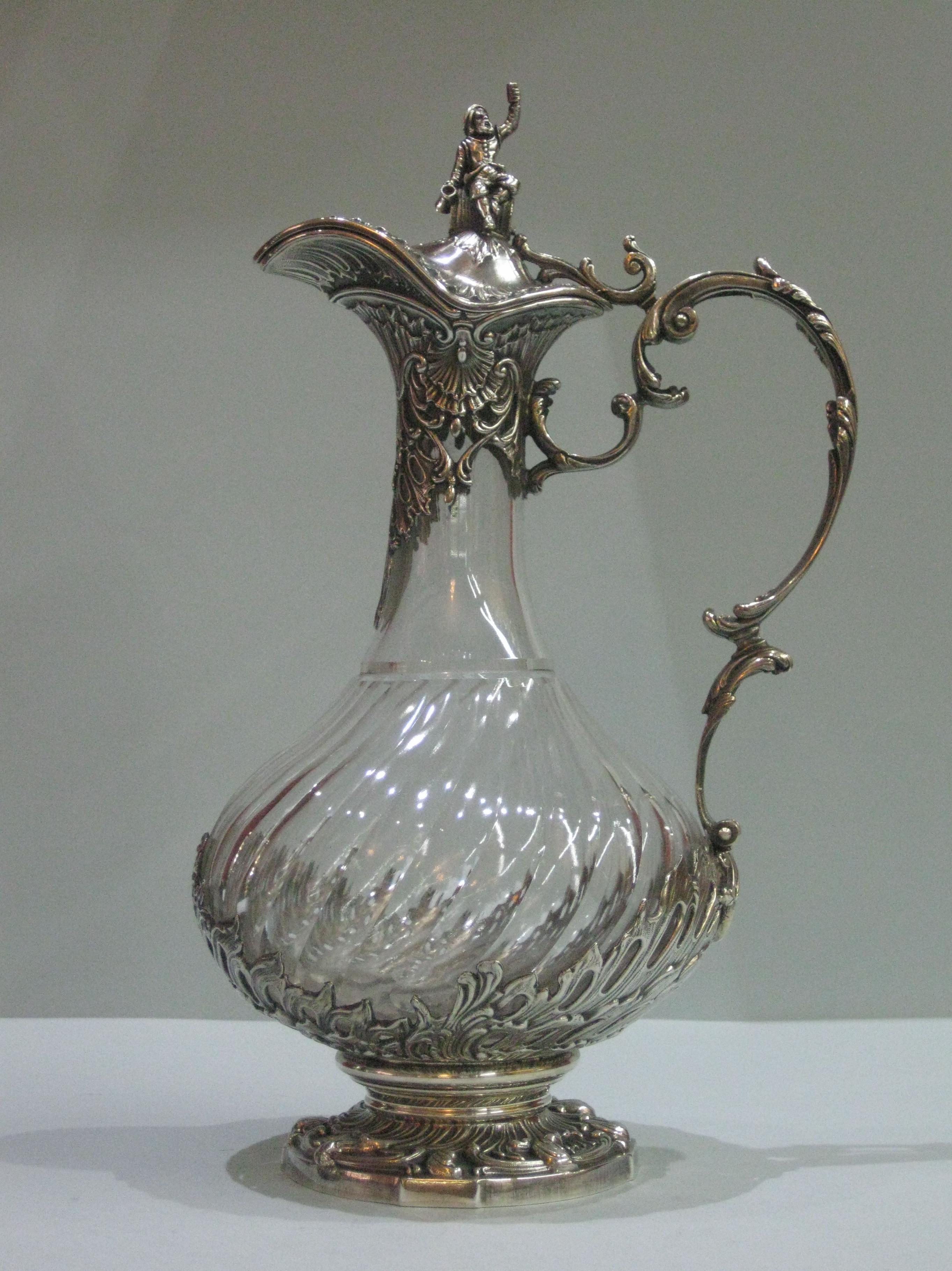 JARRA CRISTAL Y PLATA: Catalogo de plata de Vera Orfebre