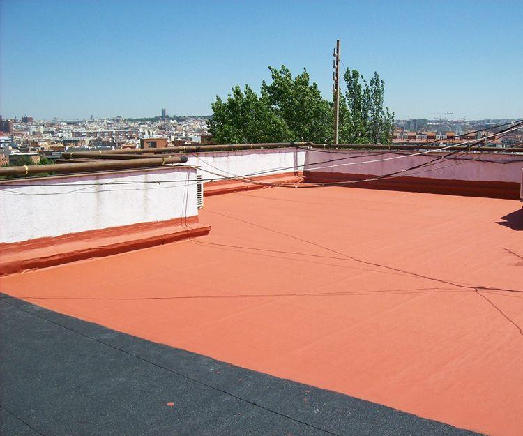 Pintura para impermeabilización de cubiertas en Tarifa