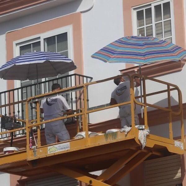 Pintura de fachadas en Cádiz