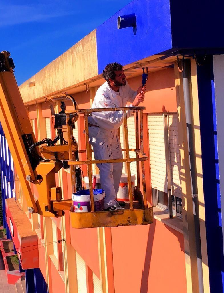 Trabajos especiales de pintura en Cádiz