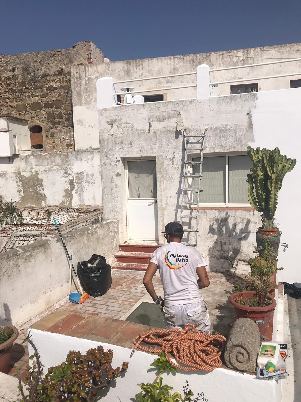 Pintura de interior y exterior en Cádiz