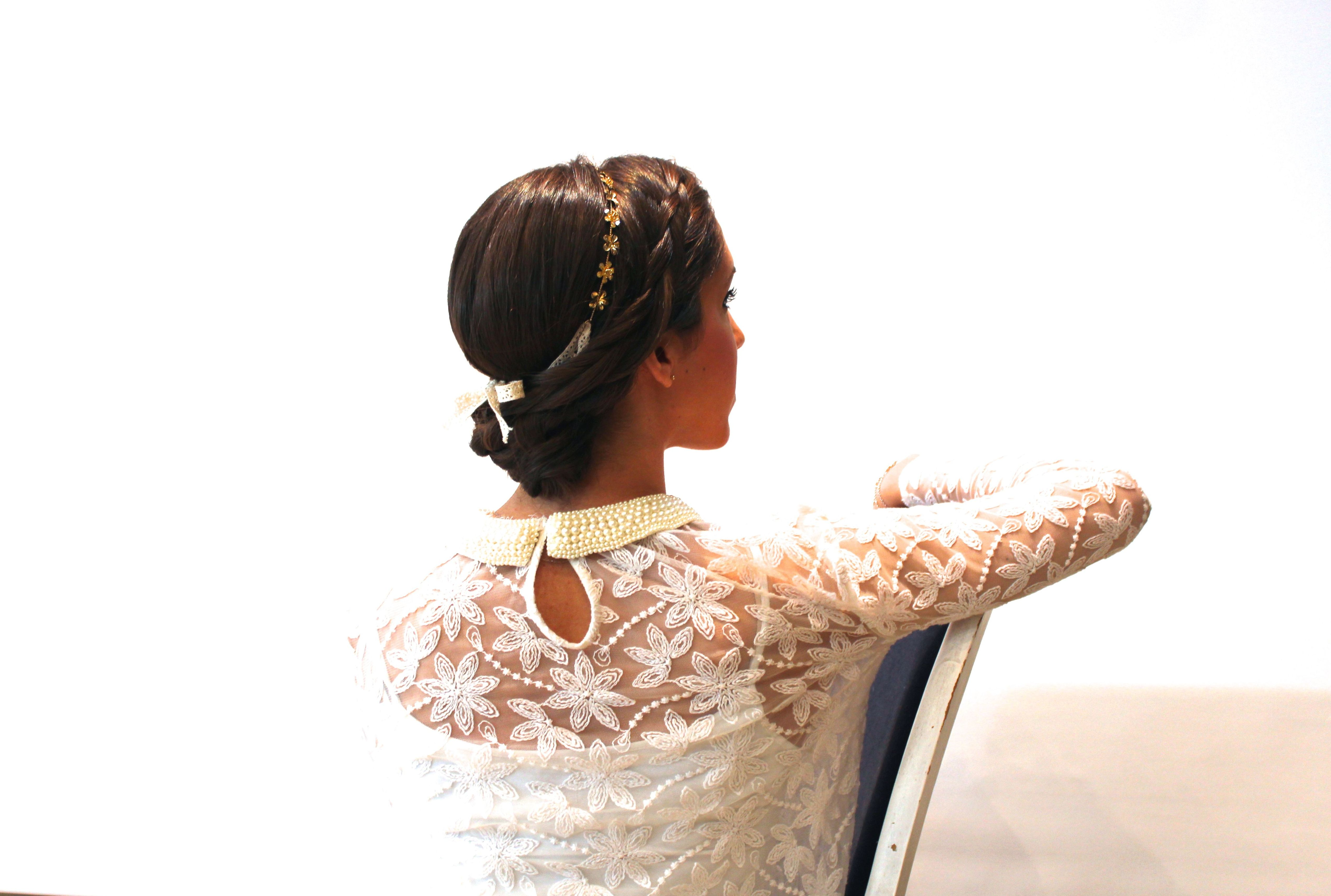 Peinado de novia Sonia atanes