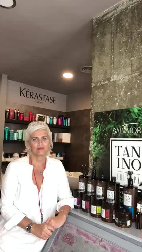 Que es la taninoplastia? explicado por Sonia Atanes peluqueria en Plaza de Castilla. }}