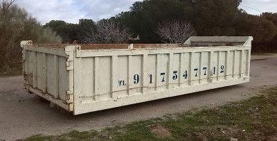 Alquiler de contenedores de obra