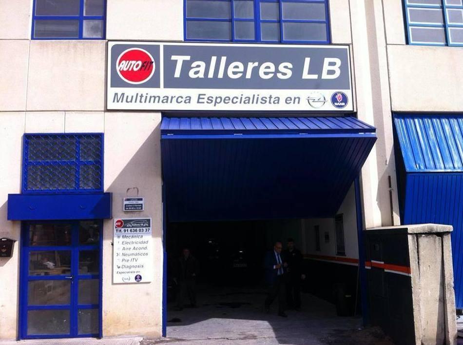 Taller mecánico en Las Rozas