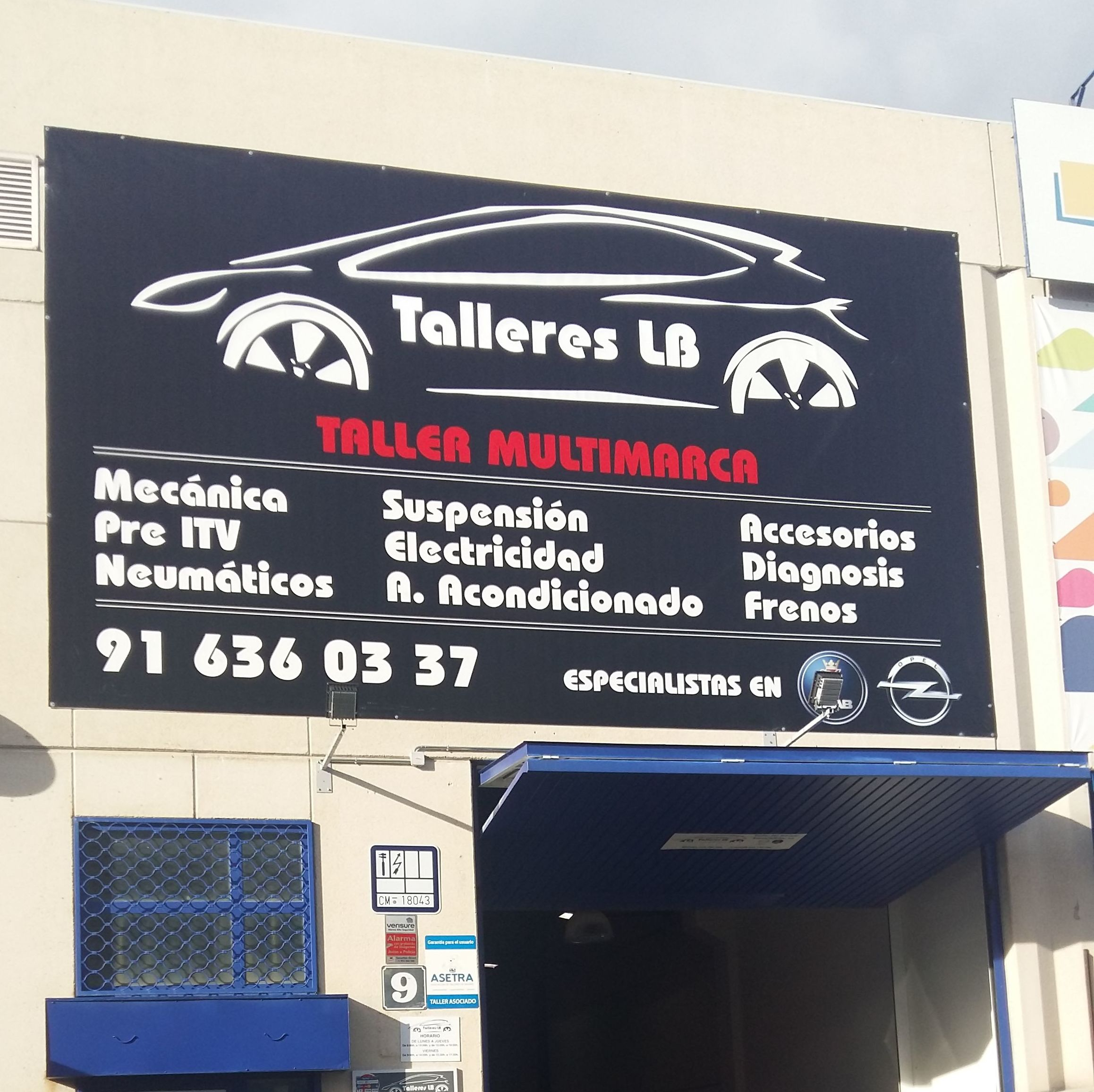 Foto 6 de Talleres de automóviles en Las Rozas | Talleres LB Las Rozas, S.L.