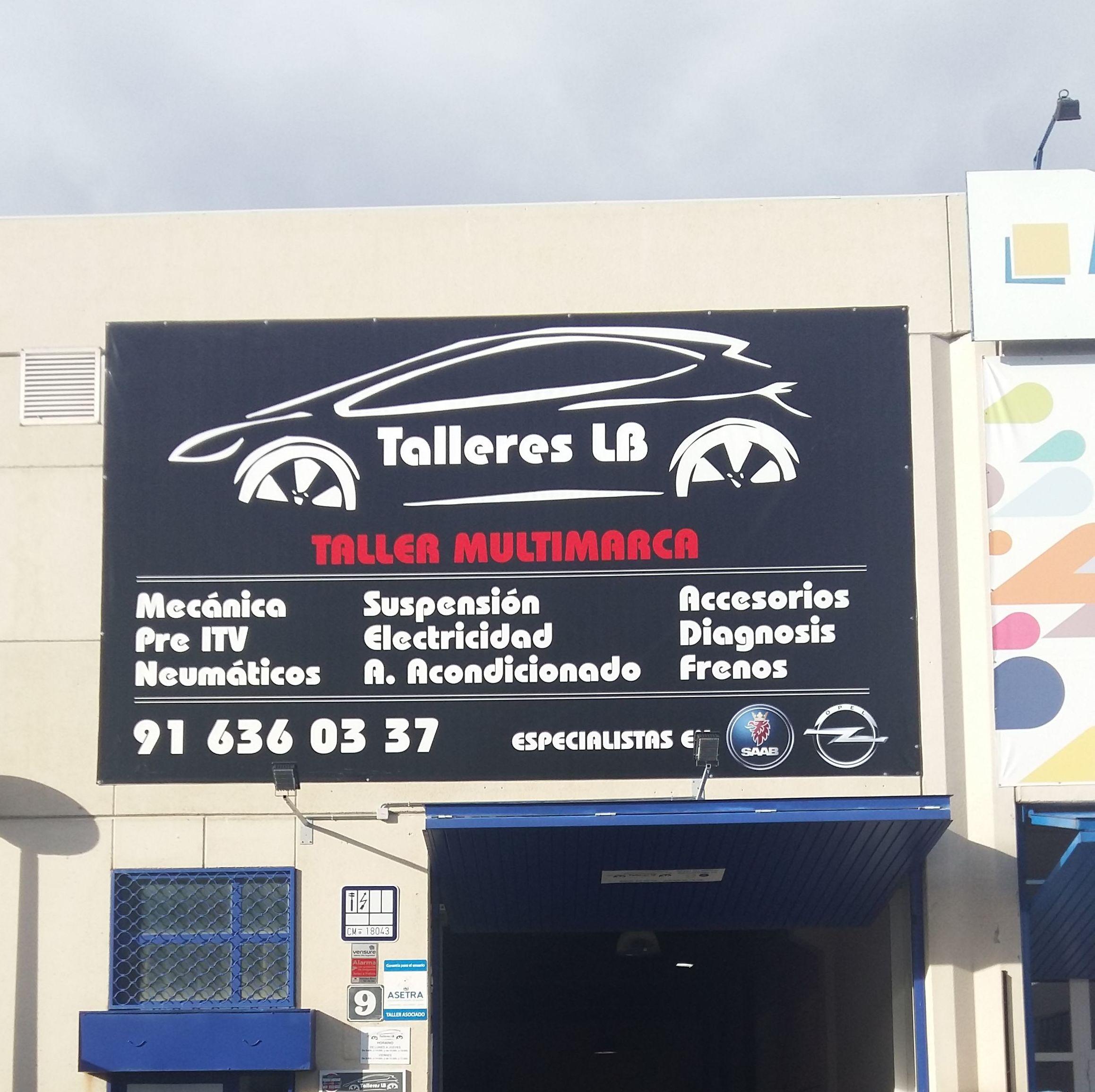 Foto 1 de Talleres de automóviles en Las Rozas | Talleres LB Las Rozas, S.L.
