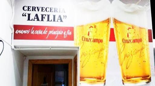 Cerveza: Carta de Cervecería La Flía