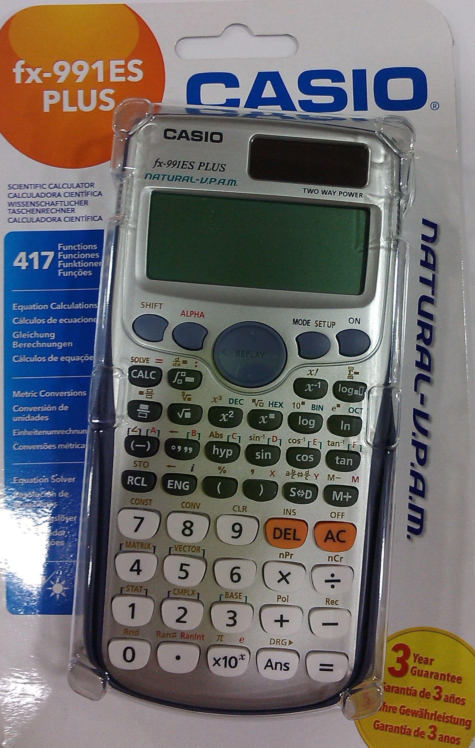 a9b82b5e5490 CALCULADORA CIENTÍFICA CASIO FX-991ES PLUS  Productos y servicios de  Papelería Formatos