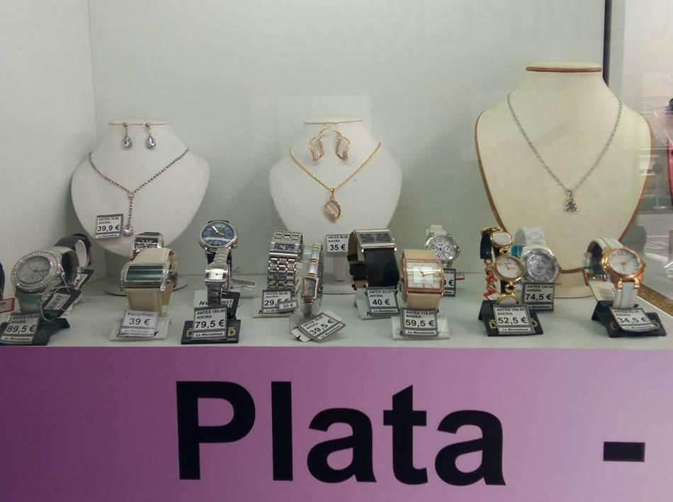 Joyas de plata en Toledo