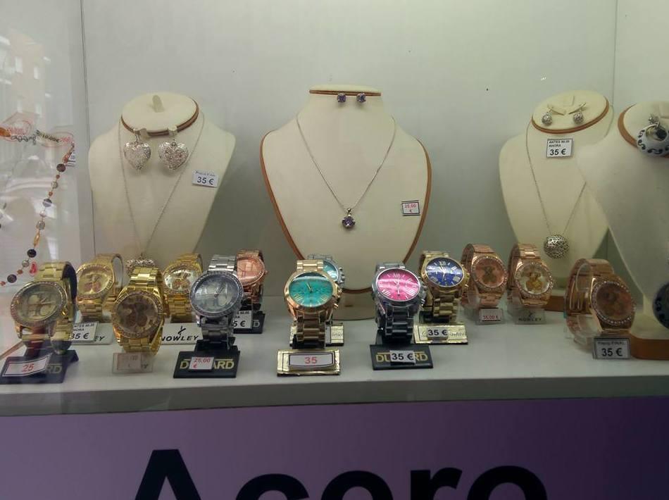 Amplio catálogo de relojes