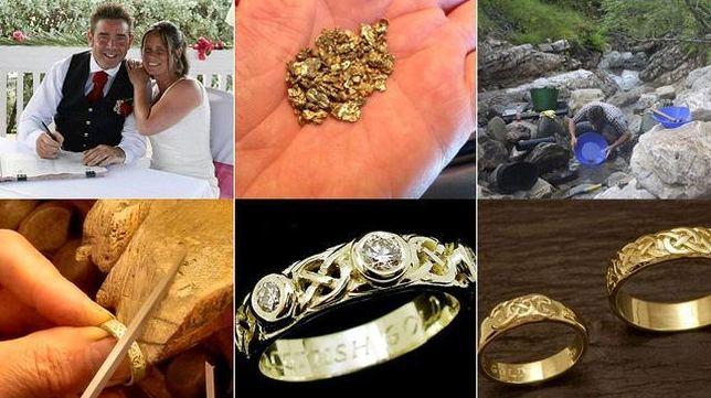 18 meses buscando el oro de las alianzas de boda