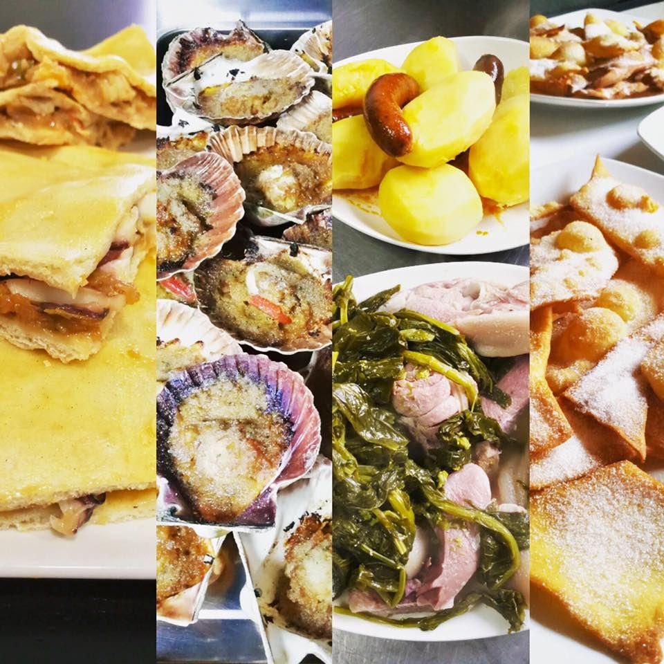 Cocina gallega, especialidad en mariscos y pescado