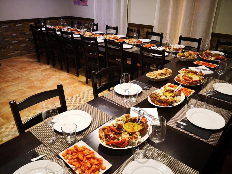 Restaurante con menú especial para grupos