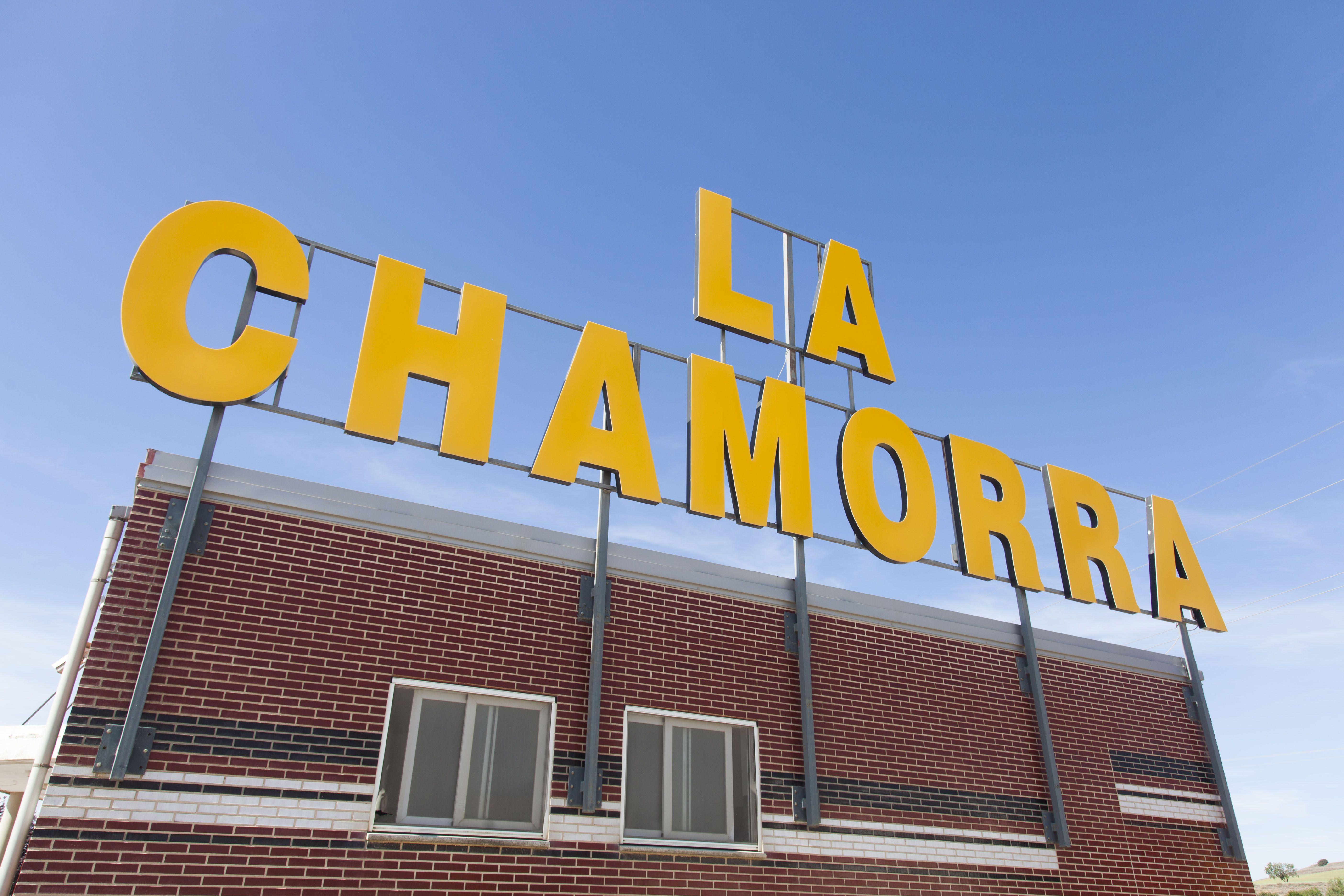 La Chamorra, cafetería, restaurante y estación de servicio en Dueñas, Palencia