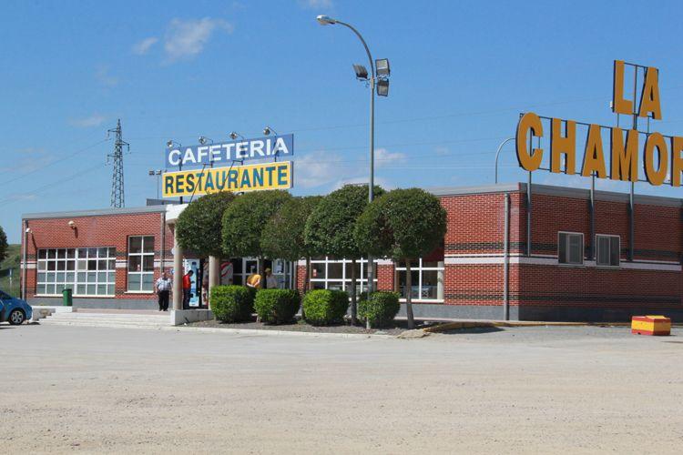 Área de servicio La Chamorra en Dueñas (Palencia)