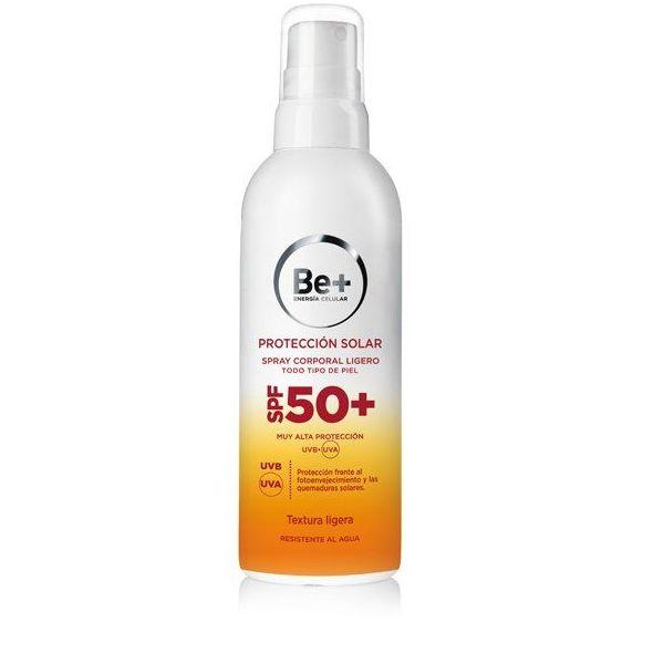 Be+ Spray ligero SPF50+: Servicios y Productos de Centro Audiológico Botánico