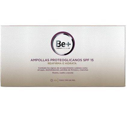 Be+ Ampollas Proteoglicanos con SPF15: Servicios y Productos de Centro Audiológico Botánico