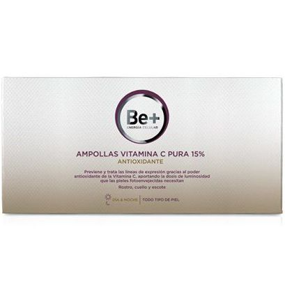 Be+ Ampollas antioxidantes con Vitamina C: Servicios y Productos de Centro Audiológico Botánico