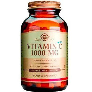 Vitamina C Solgar: Servicios y Productos de Centro Audiológico Botánico