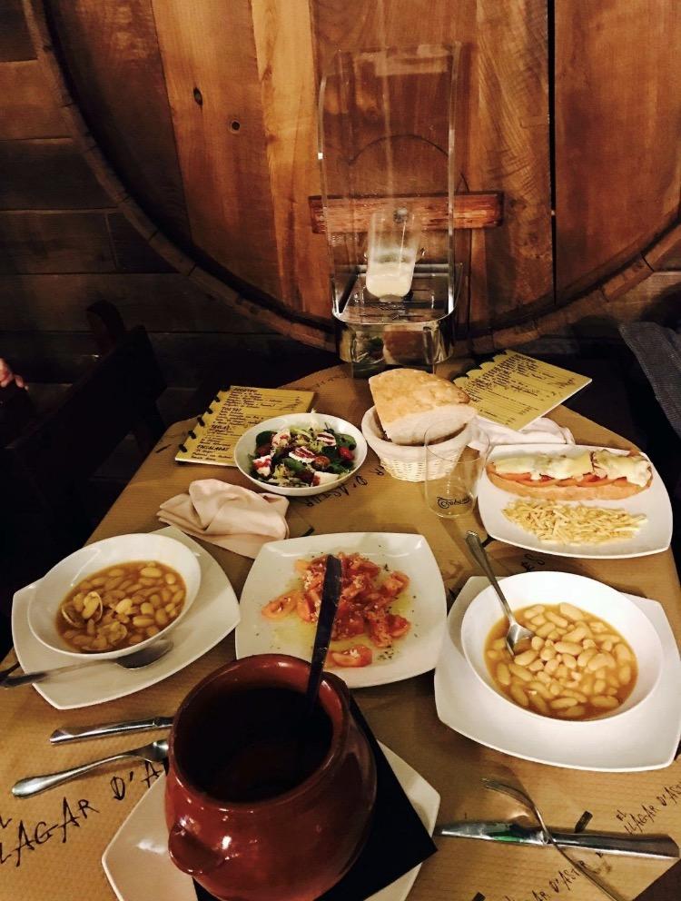 Menús especiales: Productos de El Llagar D' Asturies