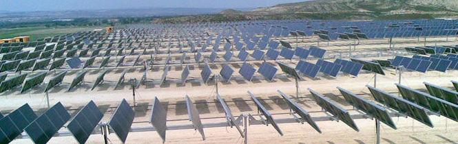 Cimentaciones en huertas solares Oricain, Navarra