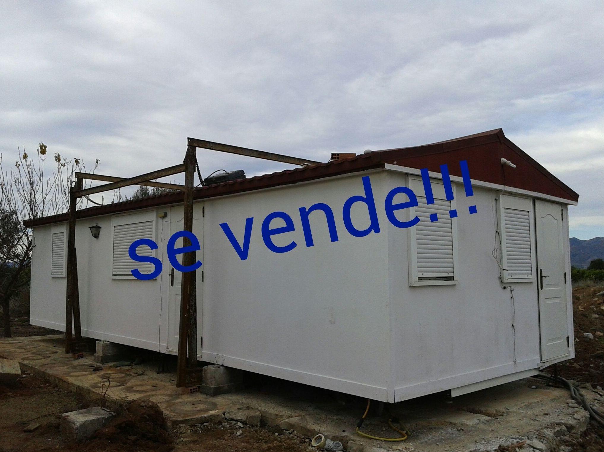 se vende casa prefabricada! !