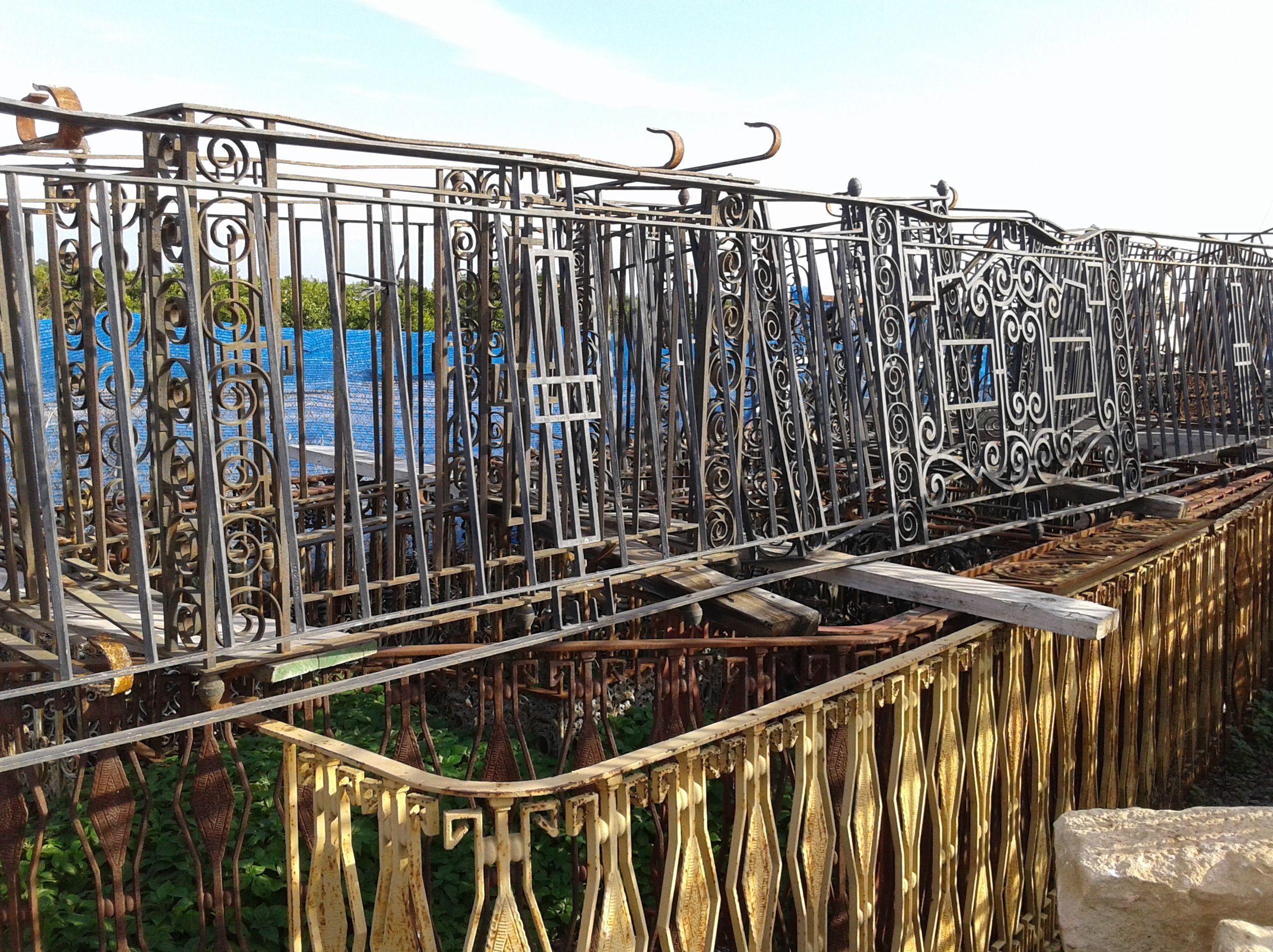 balcones hierro forjado