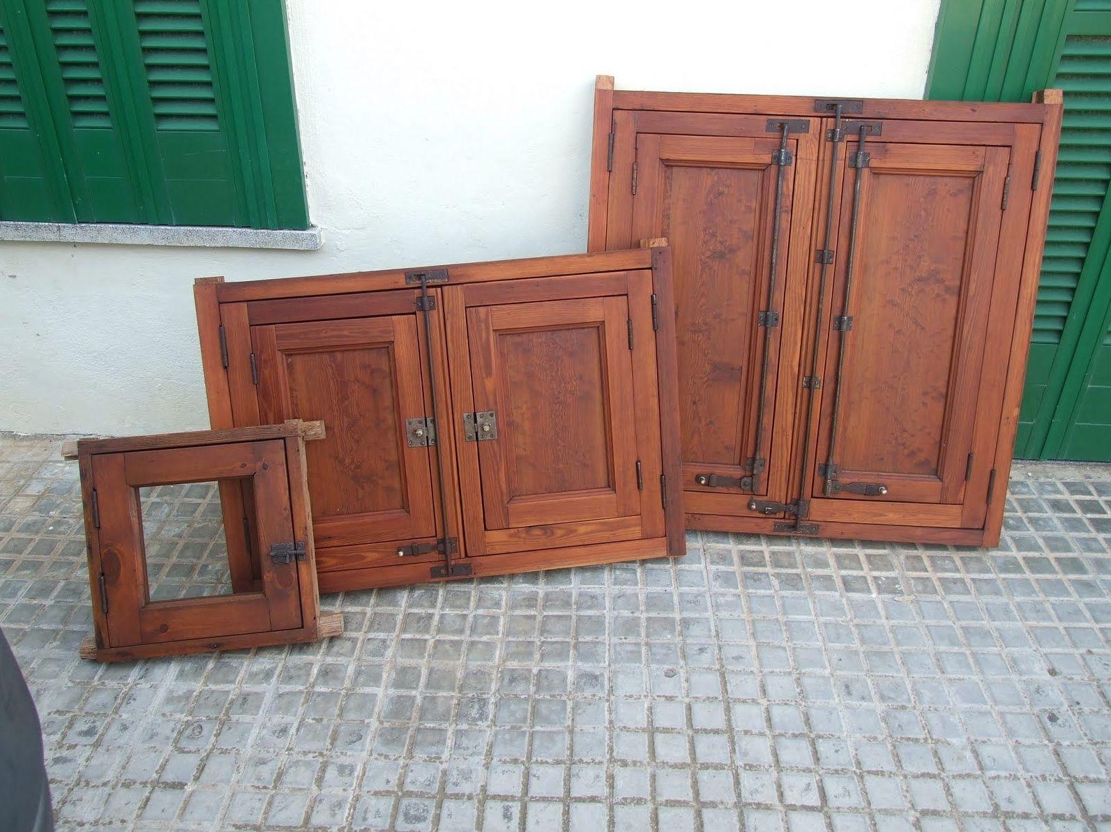 ventanas antiguas madera