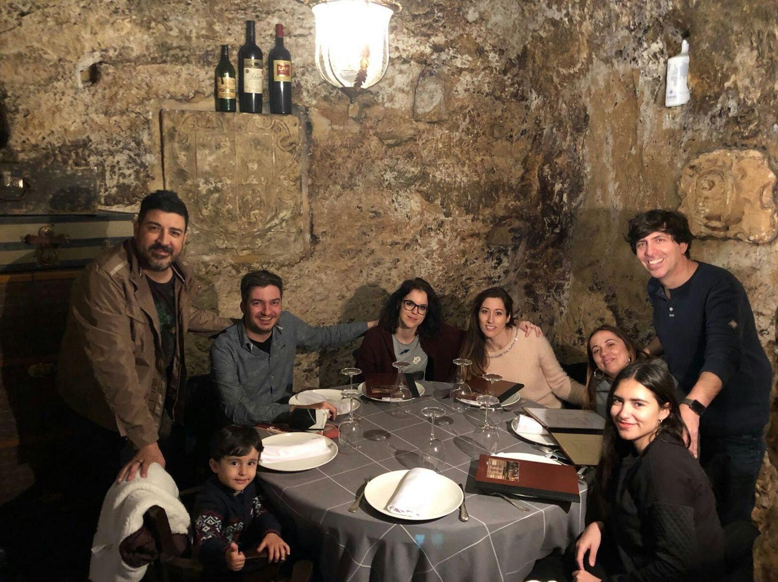 La familia de Casa Roman