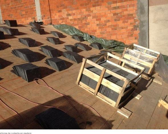 Reforma de cubierta en madera