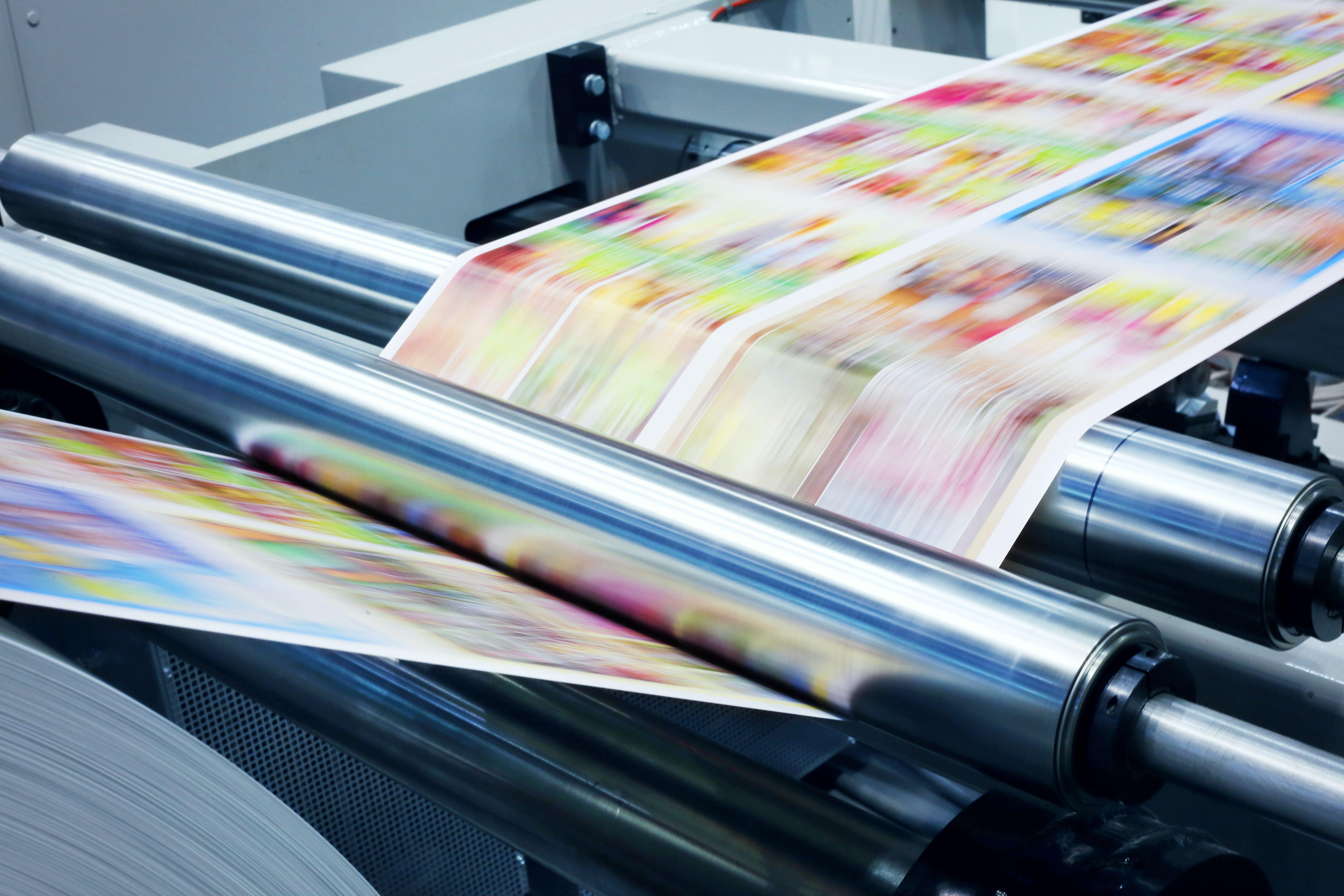 Trabajos de impresión en Madrid