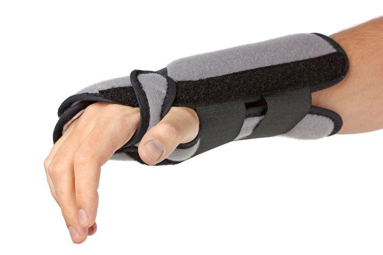 Ortopedia con productos para lesiones de brazos