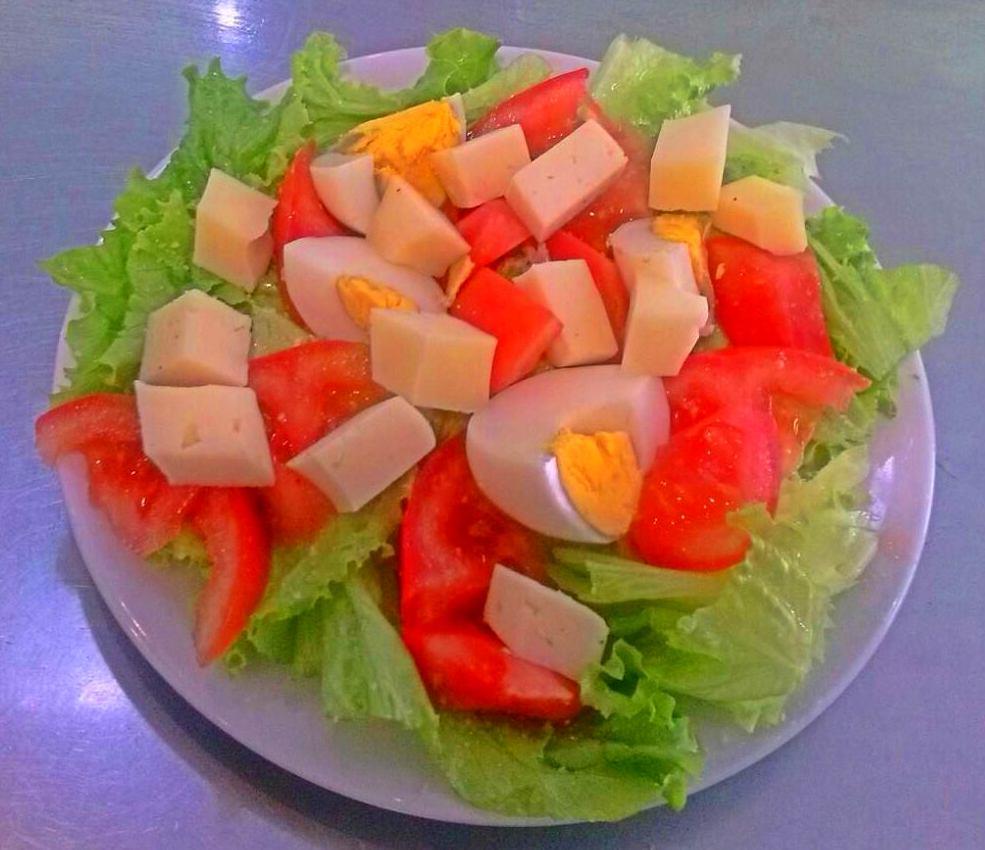 ensaladas variadas en vigo