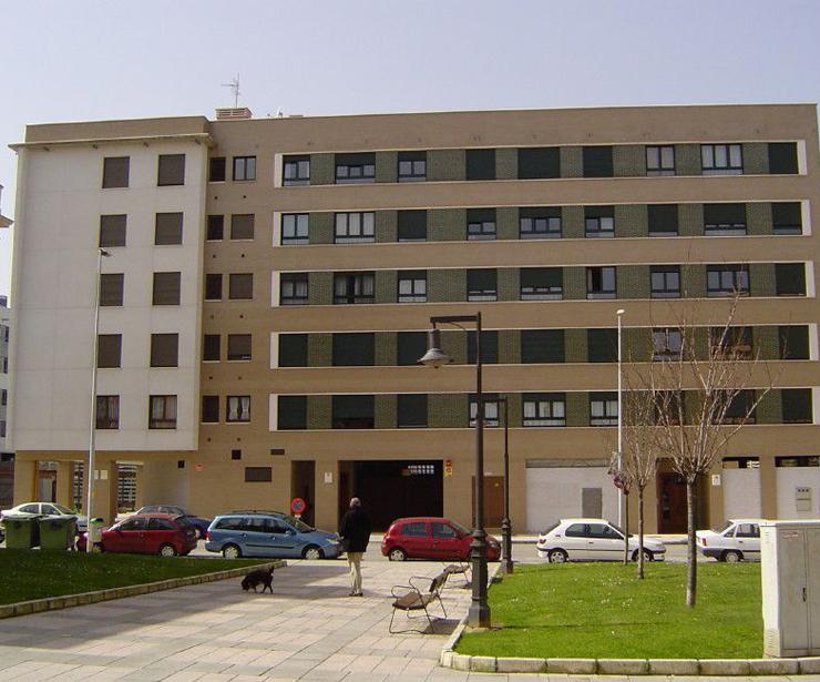 Edificio construido en Gijón (Jardines de la Algodonera)