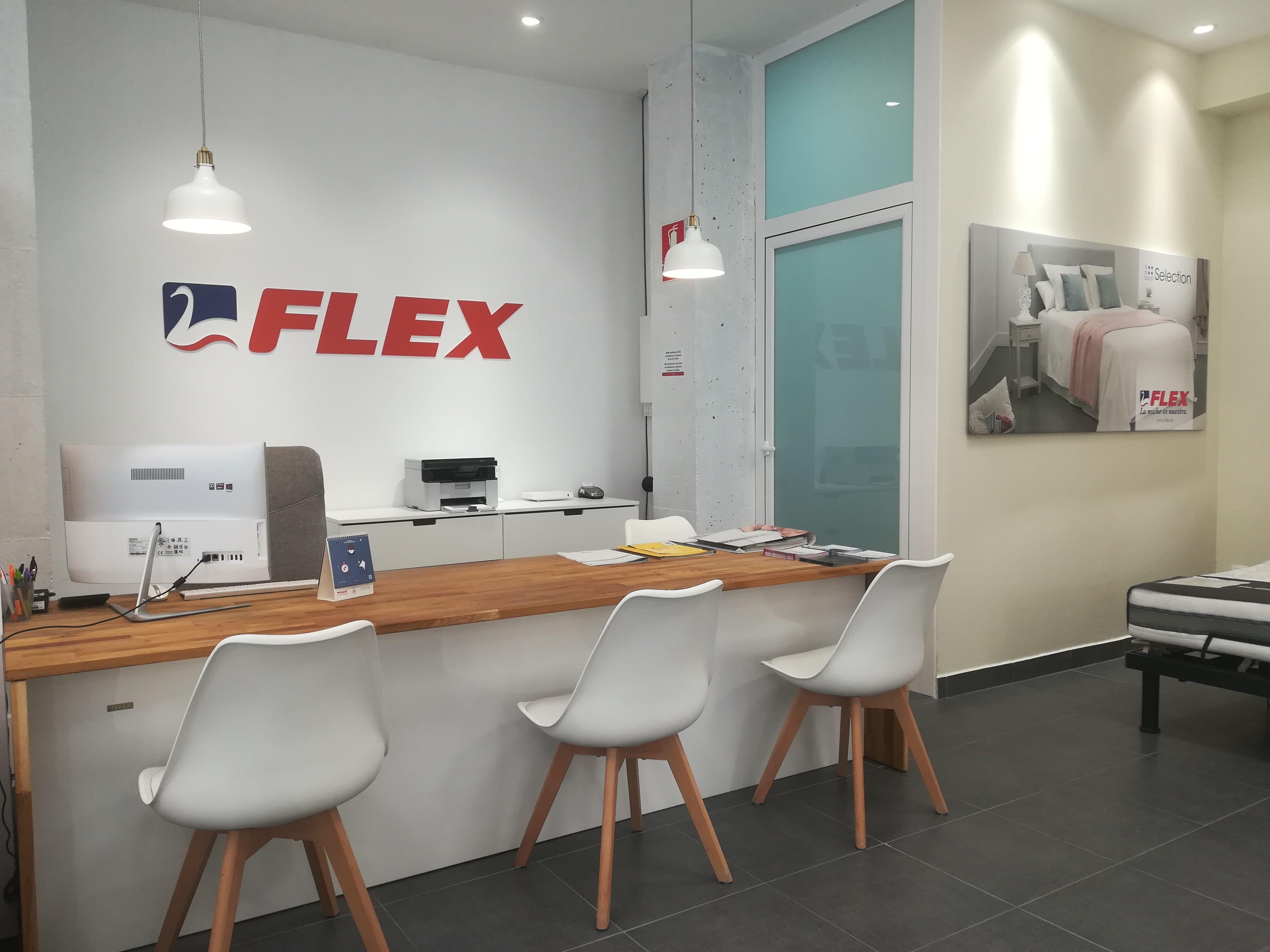 Distribuidores Oficiales Flex en Sagunto