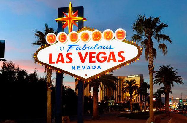 Rótulos publicitarios en Las Vegas